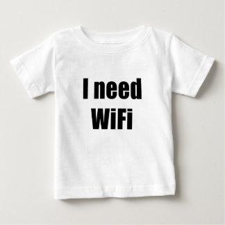 Necesito Wifi Playera De Bebé