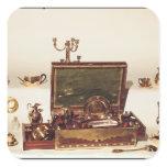 Necessaire belonging to Napoleon I Square Sticker