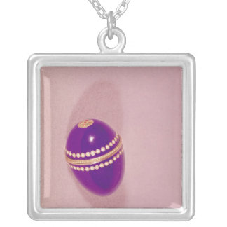 Necessaire in the shape of an egg, Sevres, 1775 Silver Plated Necklace
