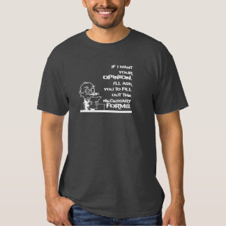Necessary Forms T-shirt