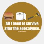 Necessities Sticker
