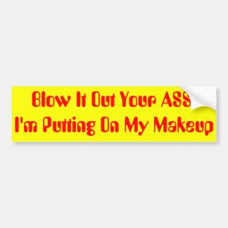 Necessity Bumper Sticker