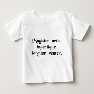 Necessity is the mother of all invention baby T-Shirt
