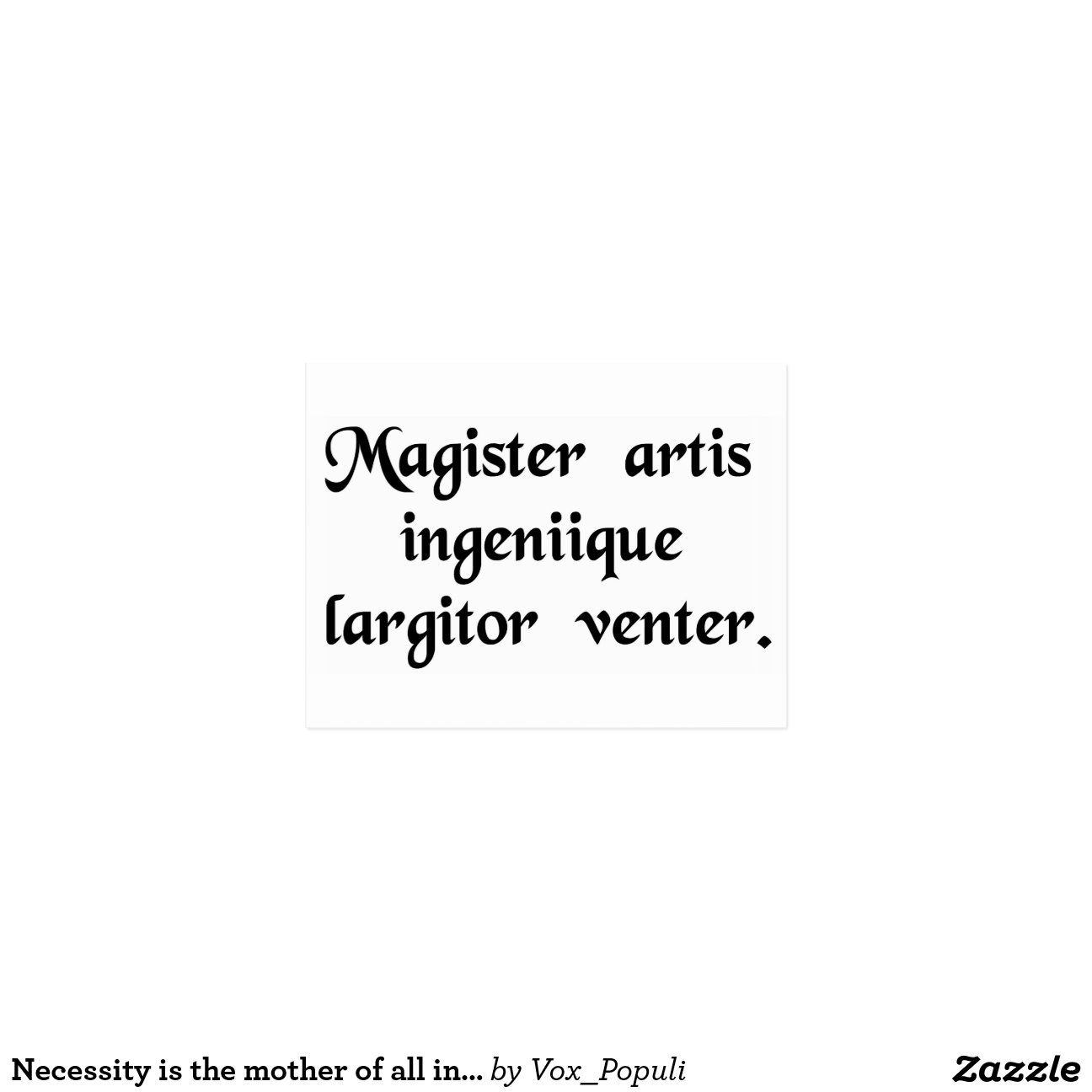 Mother of Necessity Invention Quote
