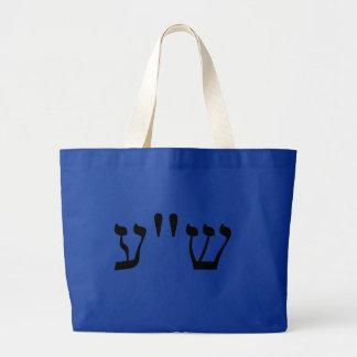 NECIO en Yiddish Bolsa Lienzo
