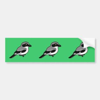 Necio Shrike de Birdorable Pegatina Para Auto