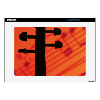 """Neck of Violin 15"""" Laptop Decal"""