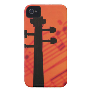 Neck of Violin iPhone 4 Case