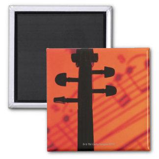 Neck of Violin Magnet