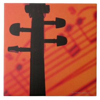 Neck of Violin Tile