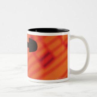 Neck of Violin Two-Tone Coffee Mug