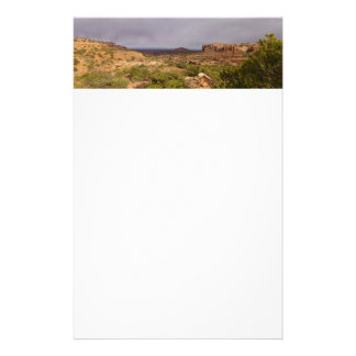 Neck Springs Trail at Canyonlands National Park Stationery