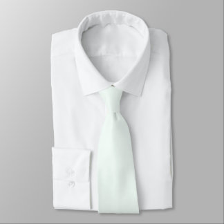 Neck Tie - Mint Cream