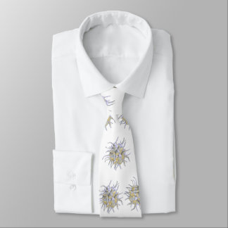 Neck Tie - Platelet (Activiated) on white canvas