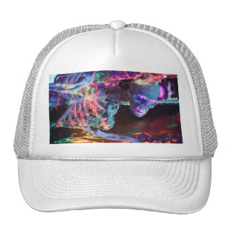 neck trucker hat