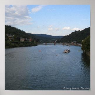 Neckar Poster