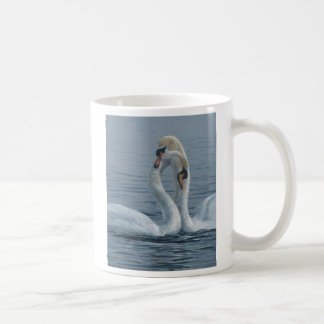 Necking Swans by Terry Isaac Coffee Mug