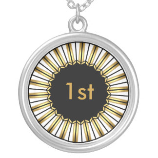 Necklace 1st Gold place Winner Medal Pendants