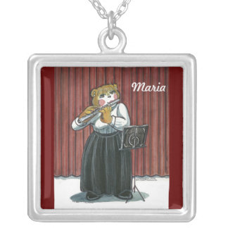 Necklace a for a Flute Player
