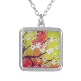 necklace almond tree in flower