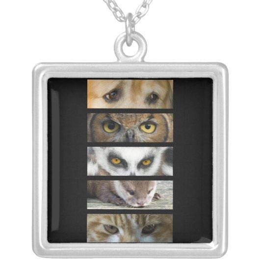 Necklace -  Animals Eyes