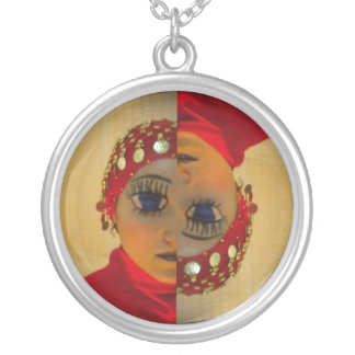 necklace anime scary red manga