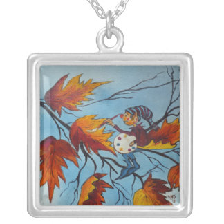 Necklace Ann Hayes Painting Pixie Painting