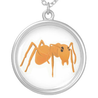 Necklace Ant in Silver