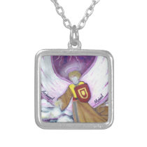 "Necklace : Archangel Michael / 18"" chain"