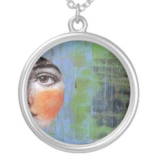 Necklace Art-moon Pie