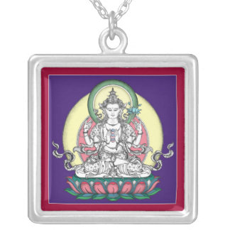 NECKLACE Avalokiteshvara (Chenrezig) - square