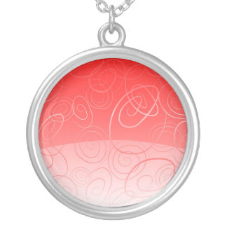 Necklace background fantacy red