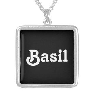 Necklace Basil