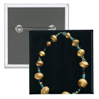 Necklace 2 Inch Square Button