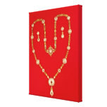 Necklace by Tiffany and Co. New York, 1870 Canvas Print