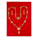 Necklace by Tiffany and Co. New York, 1870 Card