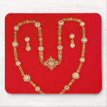 Necklace by Tiffany and Co. New York, 1870 Mouse Pad