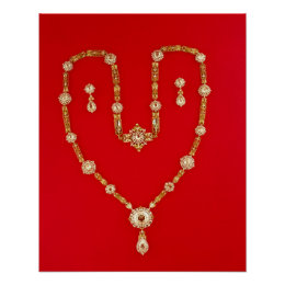Necklace by Tiffany and Co. New York, 1870 Poster