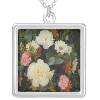 Necklace Carnation Bouquet