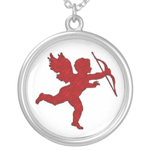 Necklace Cupid Red