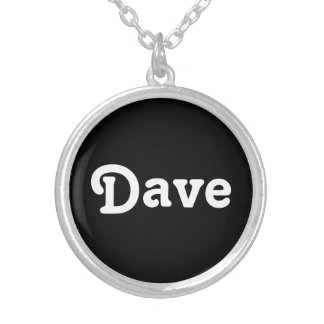 Necklace Dave