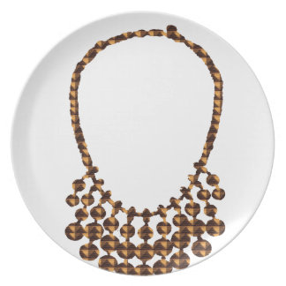 NECKLACE Design on GIFTS : by NAVIN JOSHI Dinner Plate