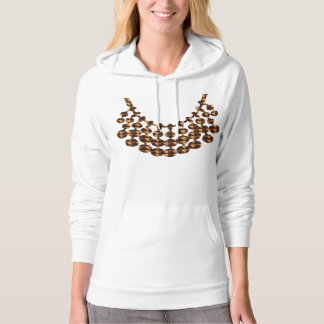 NECKLACE Design on GIFTS : by NAVIN JOSHI Hoodie