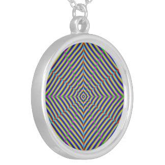 Necklace  Dizzy Geometry