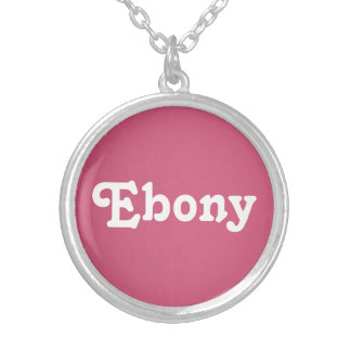 Necklace Ebony
