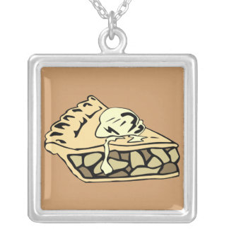 Necklace-Food/Drink-22 Silver Plated Necklace