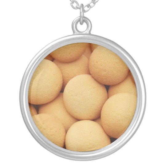 Necklace-Food/Drink-3 Silver Plated Necklace