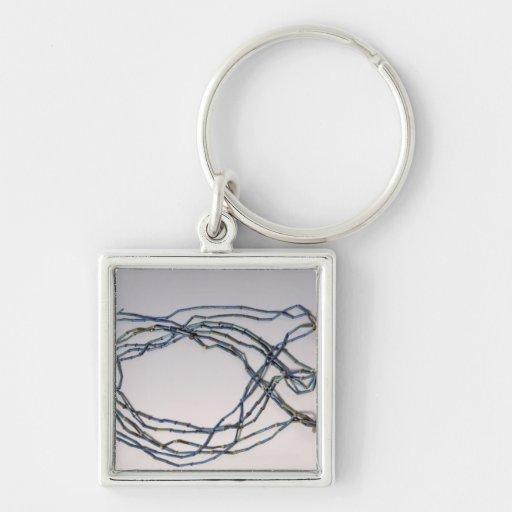 Necklace, found on a mummy keychain