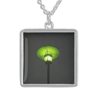 Necklace - Green Lamp