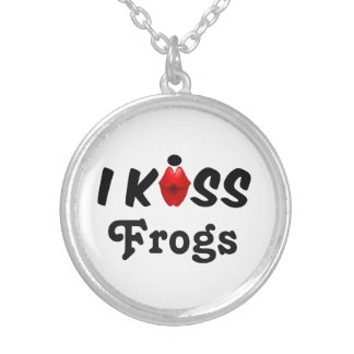 Necklace I Kiss Frogs